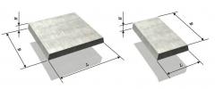 Плиты бетонные тротуарные - купить в Витебске