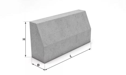 Камни бортовые бетонные вибропрессованные - продукция ОАО Жилстрой Витебск