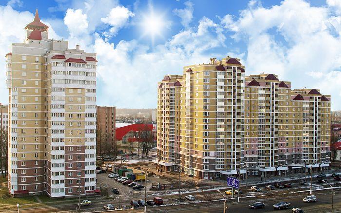 Многоквартирный жилой дом по проспекту генерала Белобородова в г. Витебске