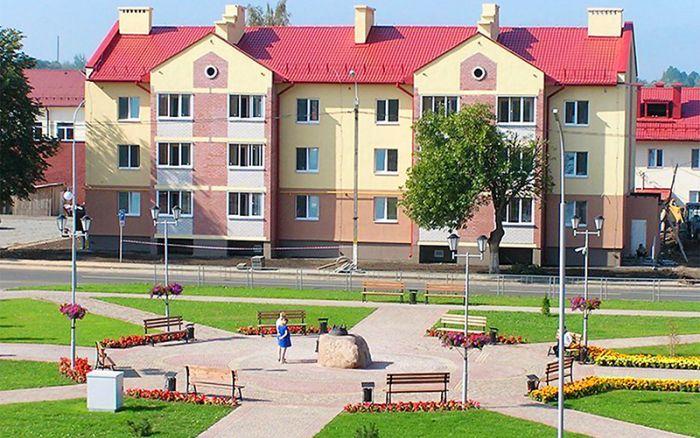 12-ти квартирный жилой дом в г. Верхнедвинск