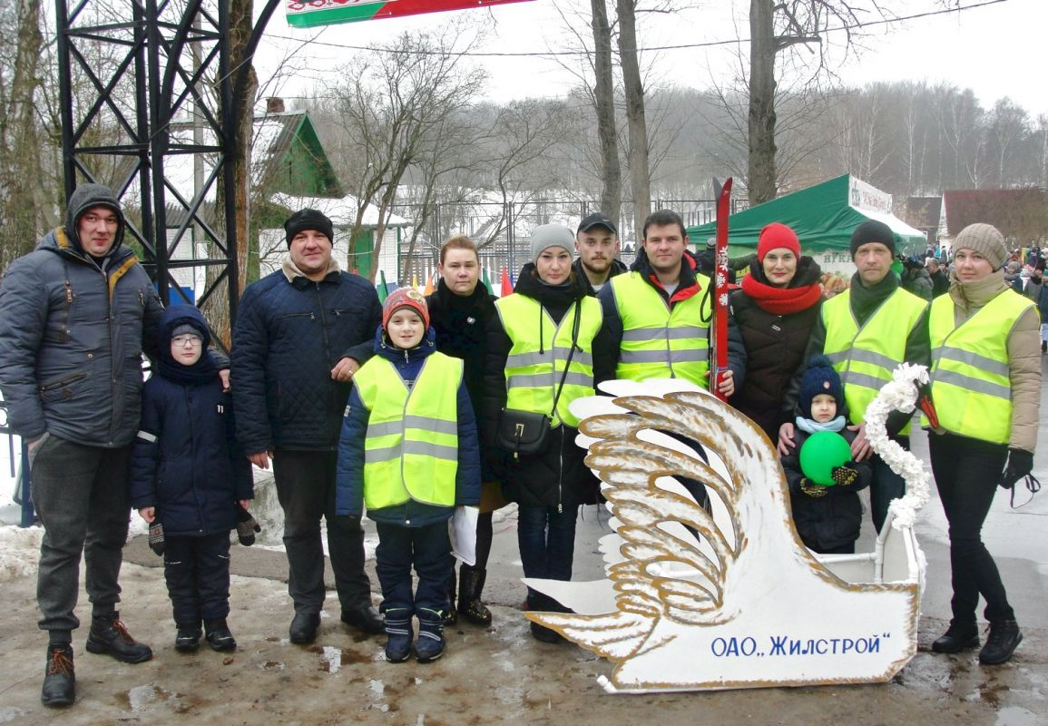 Коллектив ОАО Жилстрой принял участие в спортивном празднике