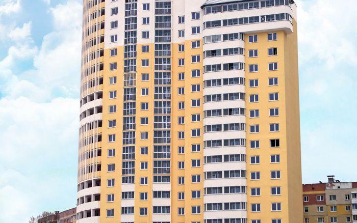 Жилой дом со встроенными помещениями общественного назначения в микрорайоне ЮГ-5, в г. Витебск