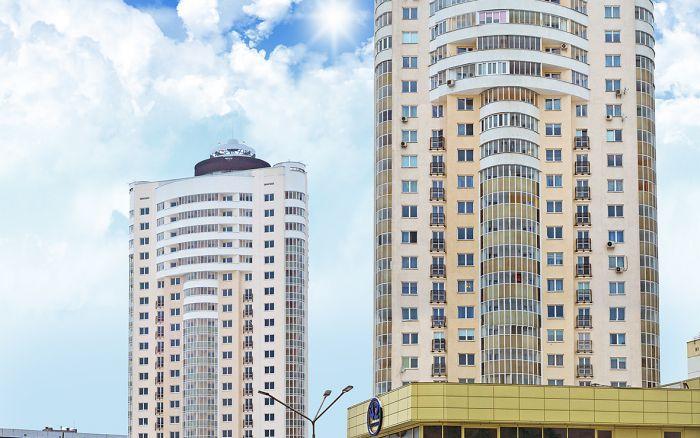 Жилой комплекс повышенной этажности со встроенными помещениями по ул. Правды в г. Витебске (1 и 2 очередь)