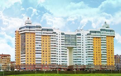 Объект строительста ОАО Жилстрой - Жилой дом в микрорайоне ЮГ-5